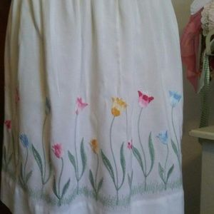 Other - Vintage Embroidered Apron